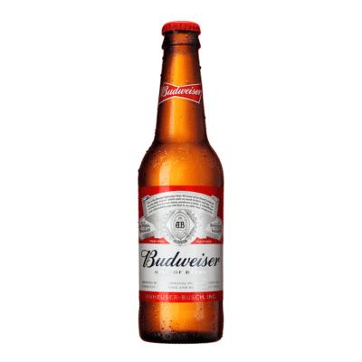 Budweiser Pilsner på flaske