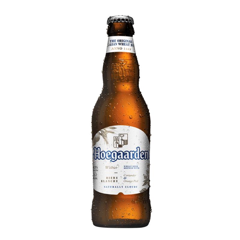 Hoegaarden Wit Hvedeøl på flaske