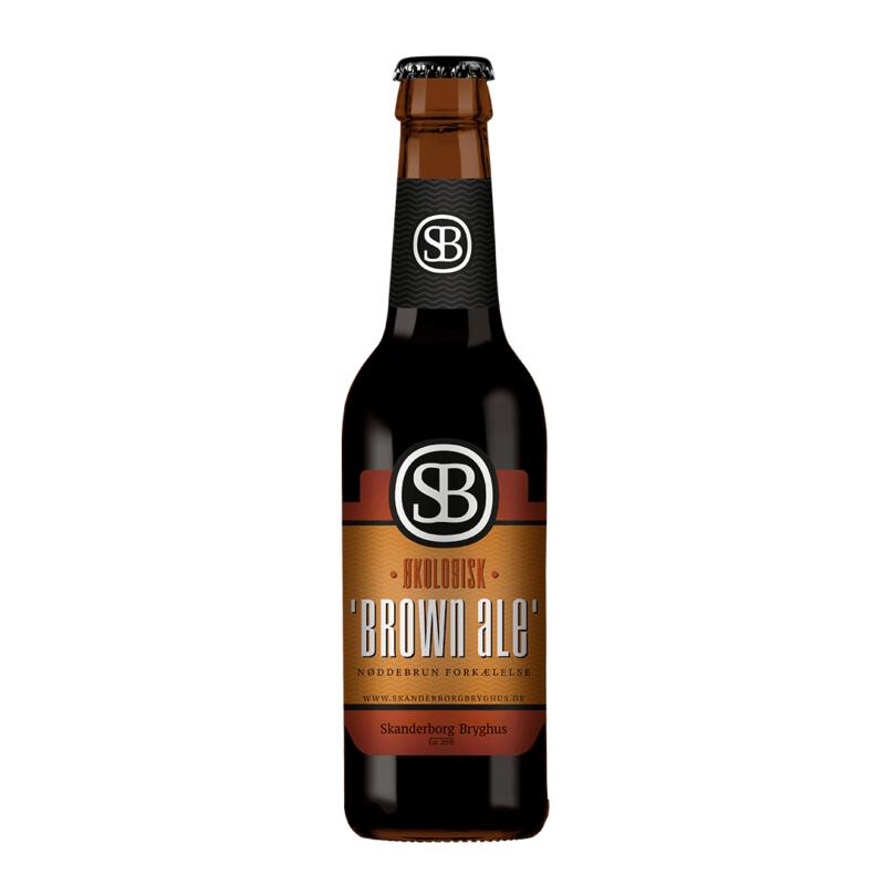 Skanderborg Bryghus økologisk Brown Ale
